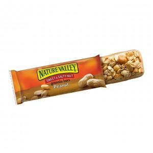 Barritas de Maní y Mantequilla de Maní Nature Valley Sweet & Salty Peanut Granola Bars