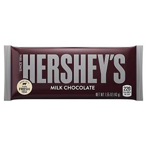 Barras de Chocolate de Leche Hershey's