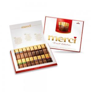 Chocolates de Fina Selección Storck Merci