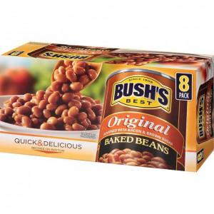 Caja con Porotos Horneados Bush's
