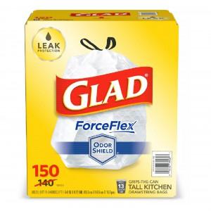 Bolsas de Basura para Cocina Glad ® ForceFlex Drawstring Trash Bags with OdorShield®