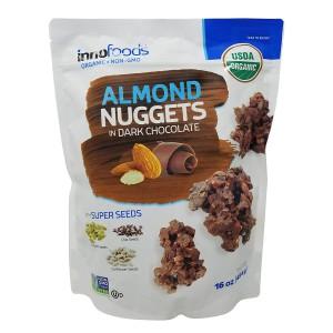 Nuggets de Almendras y Chocolate Oscuro Inno Foods