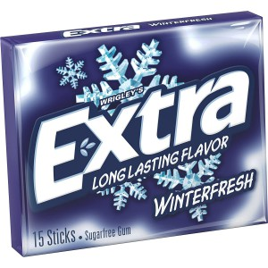 Chicles Sin Azúcar Wrigley's Winterfresh Extra