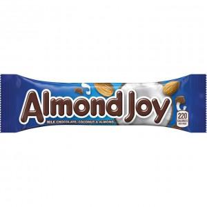 Barra de Chocolate Relleno con Coco y Almendras Almond Joy