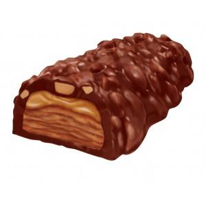 Barra Crujiente de Chocolate con Mantequilla de Maní Reese's