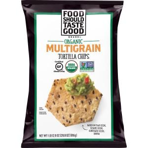 Chips de tortillas multigrano Food Should Taste Good