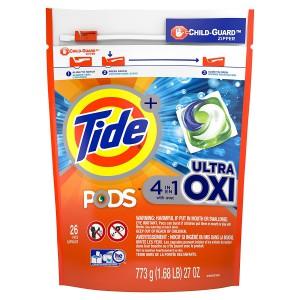 Detergente en Cápsulas Tide PODS con Ultra Oxi