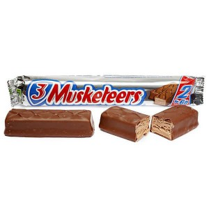 Barrita de Chocolate 3 Musketeers King Size 2 To Go