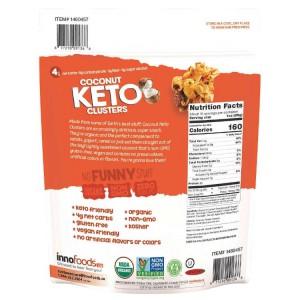 Snack de Coco con Almendras Nueces Pecanas y Semillas de Calabaza Keto Innofoods