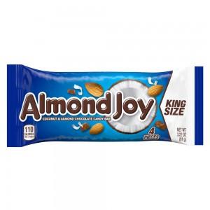 Barra de Chocolate con Coco y Almendras Almond Joy King Size