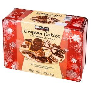 Caja de Galletas Europeas con Chocolate de Bélgica Kirkland Signature