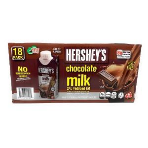 Pack de Leches con Chocolate Hershey's 2% de grasa reducida