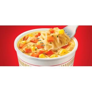Sopa Ramen de fideos con pollo Nissin