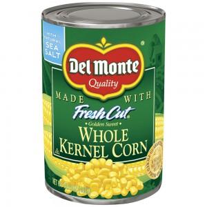 Del Monte Golden Sweet Whole Kernel Corn 432g