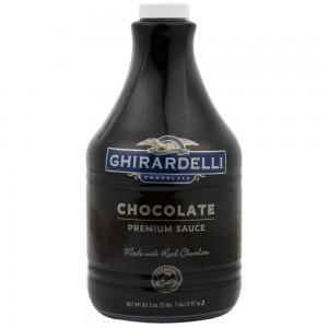 Salsa de Chocolate Premium Ghirardelli