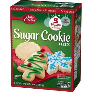 Caja de mezcla de galletas con azúcar Betty Crocker