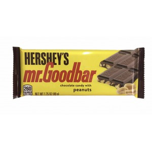 Barra de chocolate con Maní Mr. Goodbar