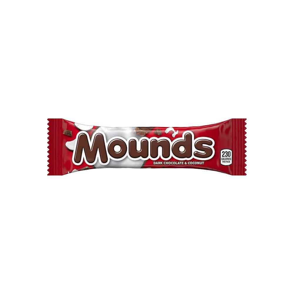 Barrita de chocolate oscuro rellena con coco Mounds