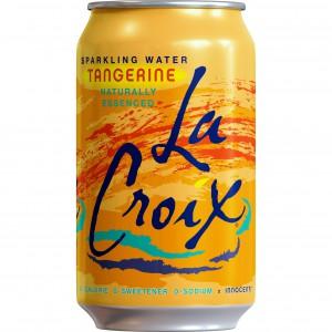 Agua gasificada LaCroix sabor mandarina