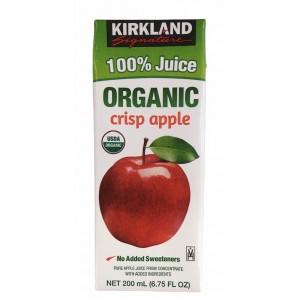 Jugo de Manzana 100% Orgánico Kirkland Signature
