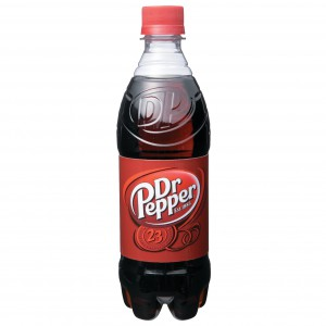Dr. Pepper en botella