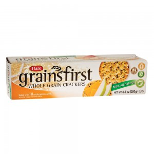 Dare Crackers, Grains First
