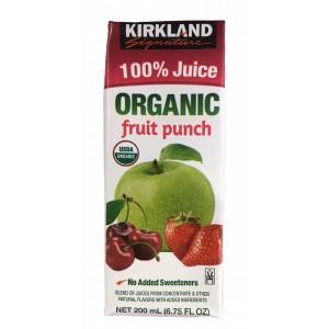 Jugo de Ponche de Frutas 100% orgánico Kirkland Signature