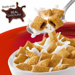 Cereales Rellenos con Chocolate Kellogg's Krave