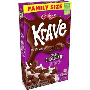 Cereales de Chocolate rellenos con Chocolate Kellogg's Krave