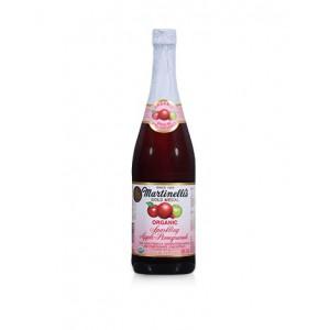 Martinelli's Sparkling Apple-Cranberry 100% Juice, 750ml