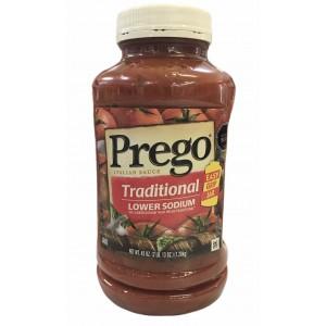 Salsa de Tomate baja en Sodio Prego