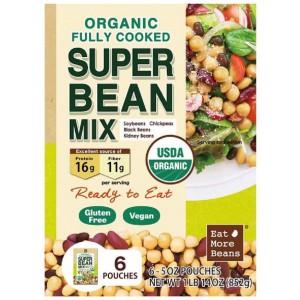Organic Super Bean Mix, 142g*6