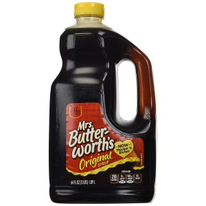 Syrup Pancakes Mrs. Butterworth's