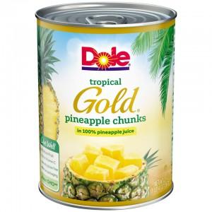 Piña en Cubitos Dole Tropical Gold
