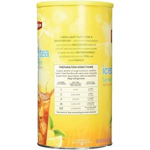 Té Helado de Limón en Polvo con azúcar Lipton