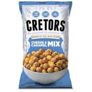 Mix de cabritas de caramelo y queso cheddar G. H. Cretors Popped Corn
