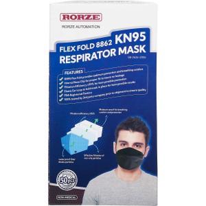 Mascarilla respiratoria Rorze Flex Fold KN95