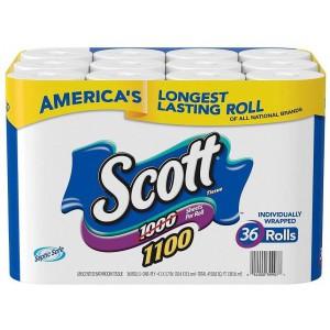 Papel de baño Scott 1100 hojas