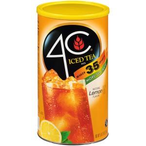 4C Mezcla Te Helado sabor Limon