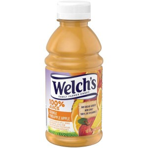 Jugo Welch's Naranja-Piña-Manzana