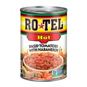 Tomate con Ají Verde Rotel Caja 8 uni