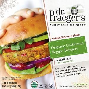 Hamburguesa Vegana Dr. Praeger's