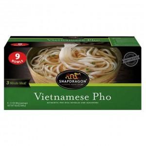 Fideos de Arroz Vietnamitas Snapdragon Caja 9 uni
