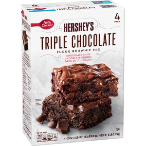 Mezcla Brownie Tres Chocolates Hershey's de Betty Crocker