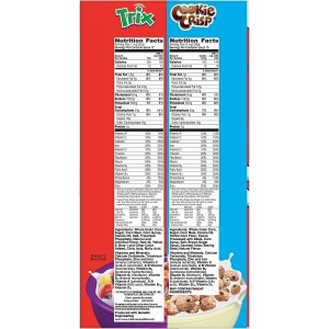 Cereales Trix & Cookie Crisp