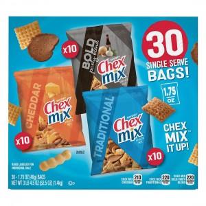 Mezcla Chex Mix Caja Variedad 30 uni