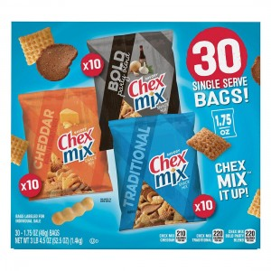 pack Chex Mix Clasico, 30 uni