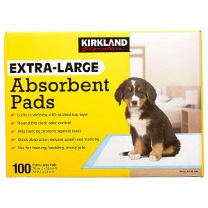 Almohadillas absorbentes extragrandes de Kirkland