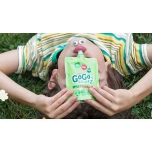 GoGo Squeez Organico Manzana-Frutilla