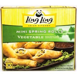 Rollitos Primavera Mini Ling Ling